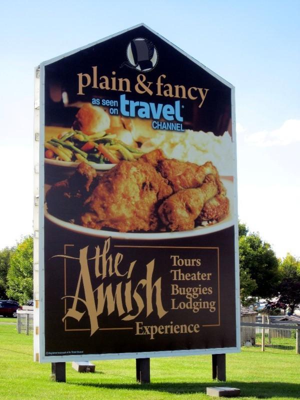 Werbung - Vermarktung der Amish sogar für einen eigenen Fernsehkanal ...