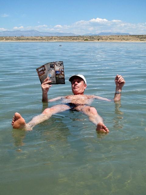 Relaxen - Lesen im Salt Lake