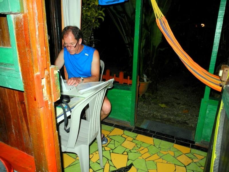 Erlebnisse am laufenden Band - Schreiben im Walaba Hostel in Punta Uva Beach