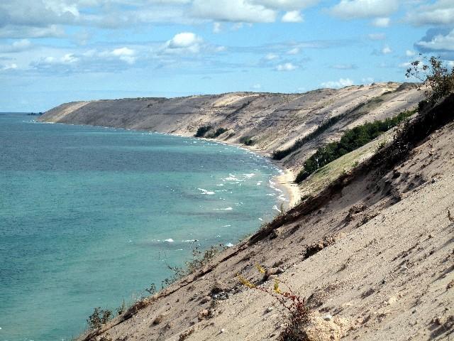 Dünenlandschaft - Kilometerlanger Küstenabschnitt am Lake Superior