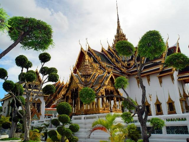 Baujahr 1790, Bauherr König Rama I - Dusit Guppe im Grand Palace