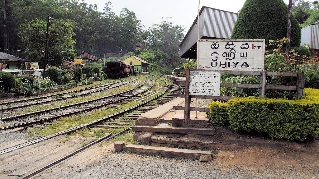 Ohiya ist der letzte Ort am Fuße der Horton Plains und noch mit dem Zug erreichbar
