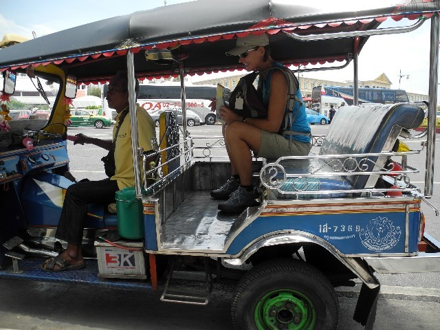 Billiges TukTuk - 20 Baht für gute 10 Minuten