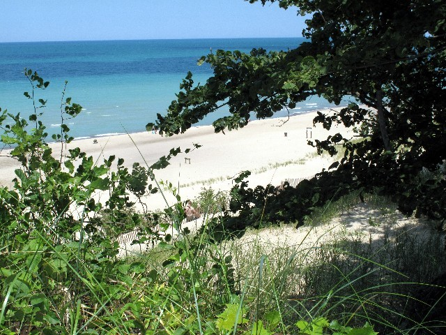 Täuschung? - Dünen am Lake Michigan