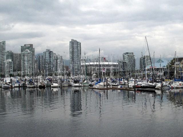 Allgegenwärtig - Eine von vielen Marinas in Vancouver
