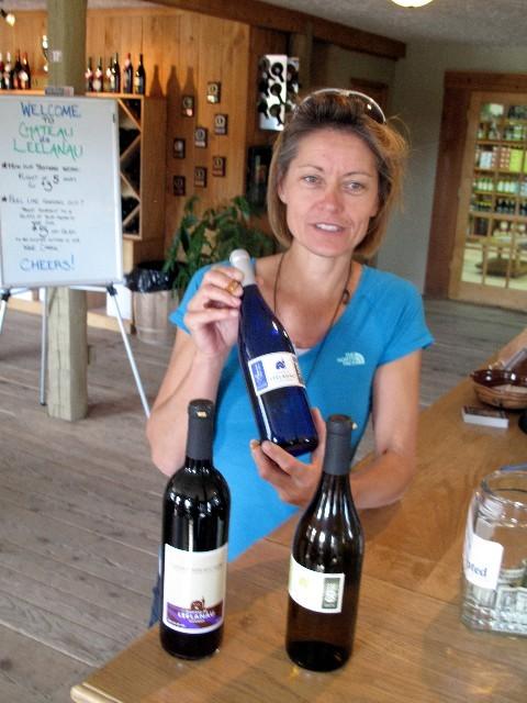 Fündig geworden - Weinprobe auf der Leelanau Halbinsel