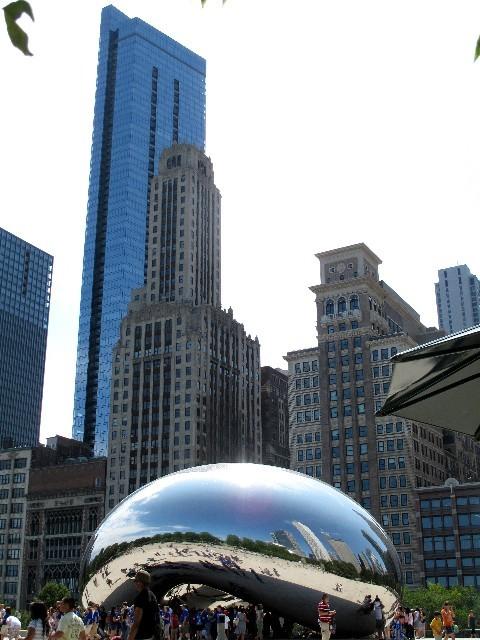 Spiegelung  - Impressionen von Chicago