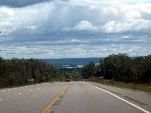 Michigan - Laubmischwald und Seenlandschaft