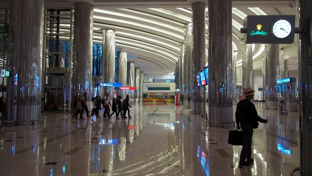 Pompös - Flughafen Dubai