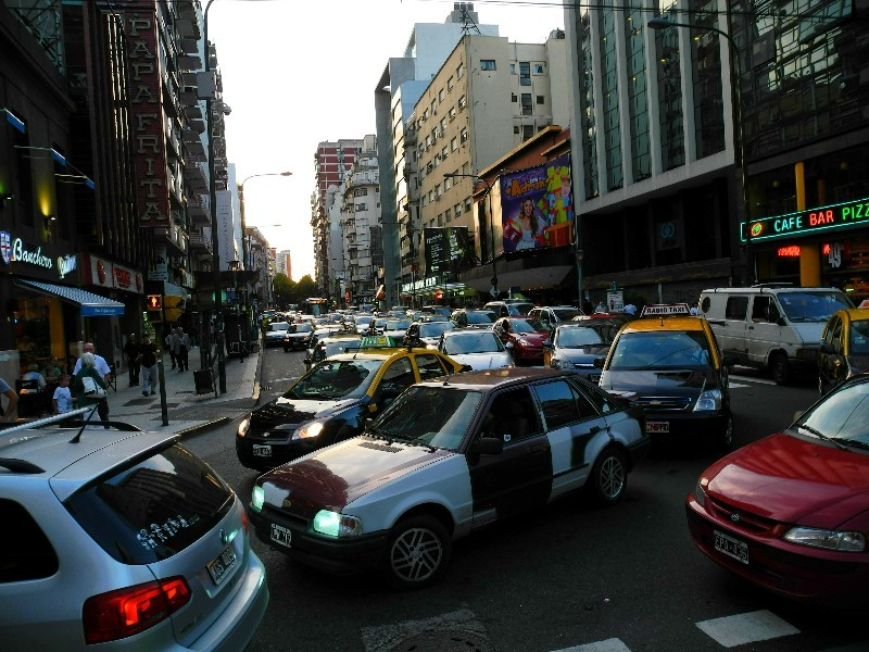 Nichts geht mehr - Verkehrschaos in Buenos Aires