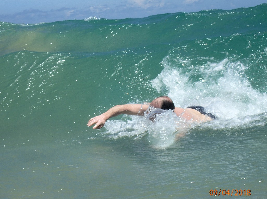 ... zum Bodysurfen ...