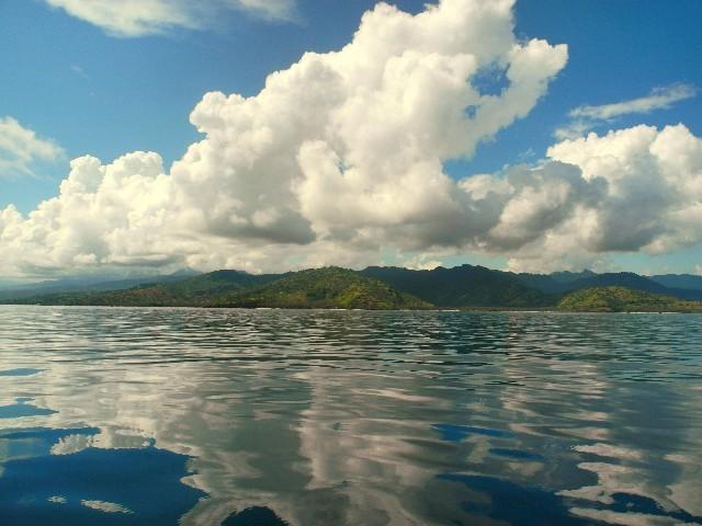 ...die Blicke auf Lombok...