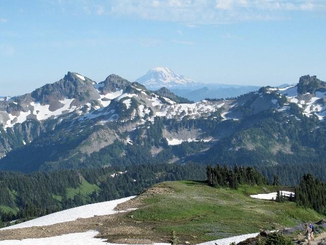 Mount Adams - Kleiner Vulkanbruder des Mount Rainiers