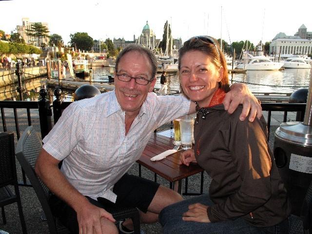 25 Jahre - Essen am Hafen von Victoria