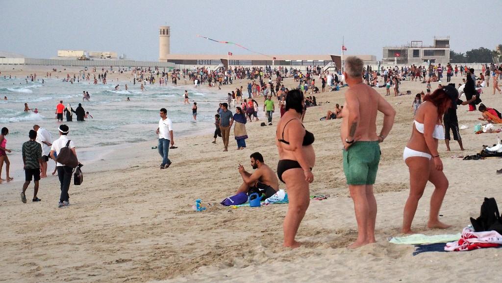Ambivalent - islamische Verhüllung versus westlichen Bikinikult