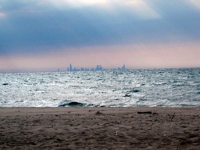 Aus der Ferne - Skyline von Chicago