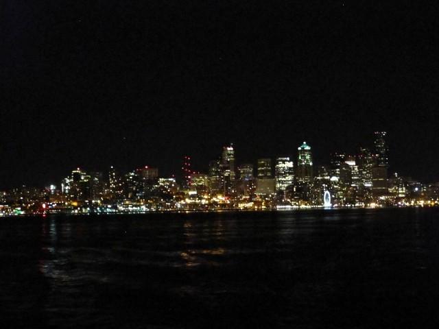 Rückfahrt mit der Fähre von Seattle