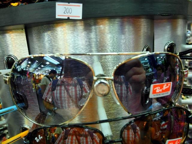 """MBK - im Megaeinkaufszentrum gibt es nicht nur """"Ray Ban"""" Brillen für knapp 6 € ..."""