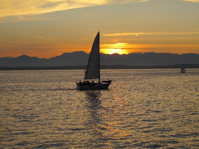 Stimmungsvoll - Seattles Atmosphäre lebt auch vom Pazifik