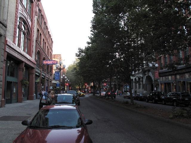 """Gut erhalten - """"Altstadt"""" von Seattle"""