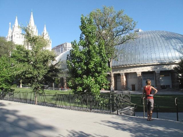 Mormonisches Zentrum - Tempel und Tabernacel in Salt Lake City