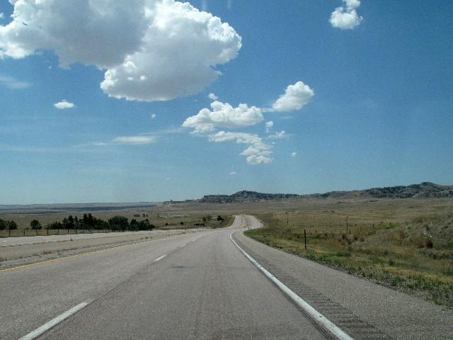 Unendliches Prärieweideland auch in Nebraska
