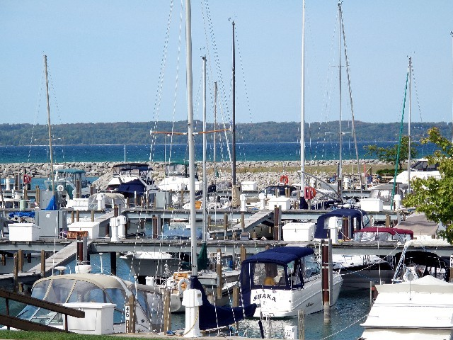 Allgegenwärtig - Marina in Michigan (Lower Peninsula)