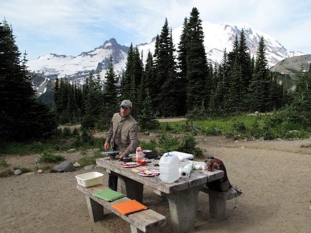 Einmalig - Frühstück zu Füßen des Mount Rainiers