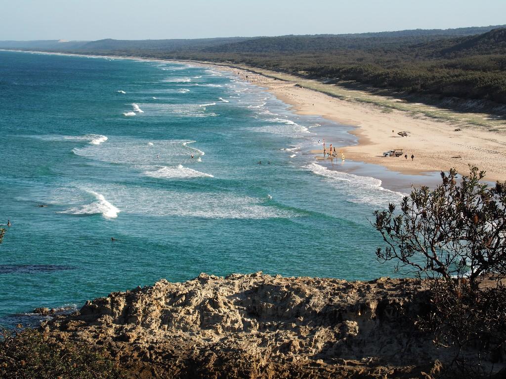 Surfers Paradise - Wellen soweit das Auge reicht
