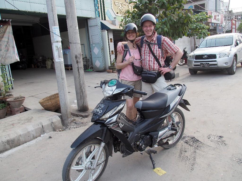 Unabhängig - wir schätzten unser kleines Motorbike