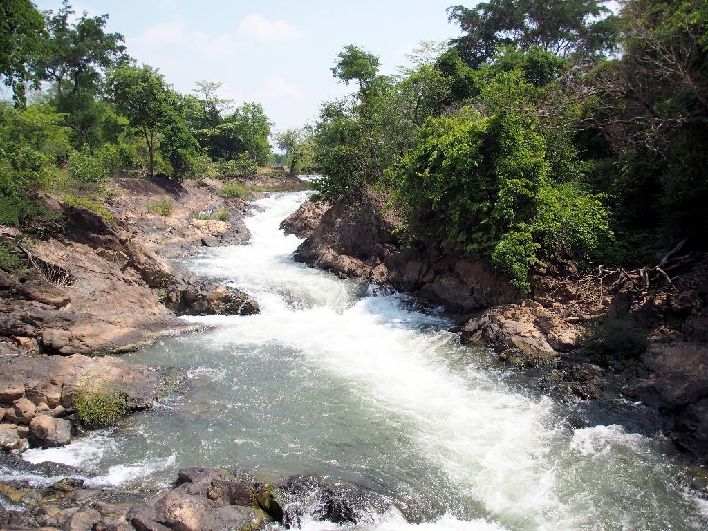 Wasser, Wasser - auf unserer Kayaktour von Don Det...