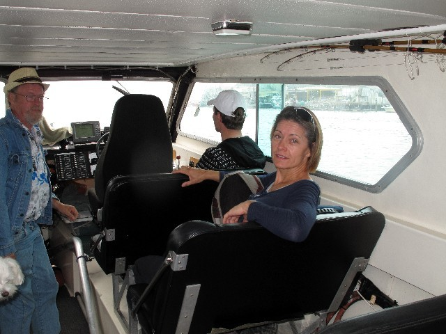 Erwartungsvoll - Whalewatching in Ucuelet