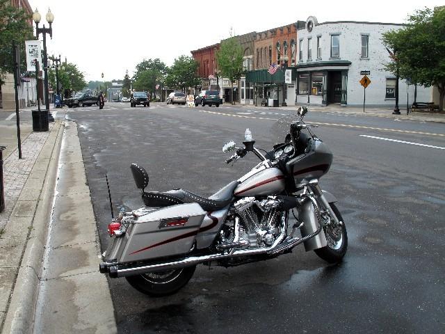 Typisch - Straße in Ravenna (Ohio)