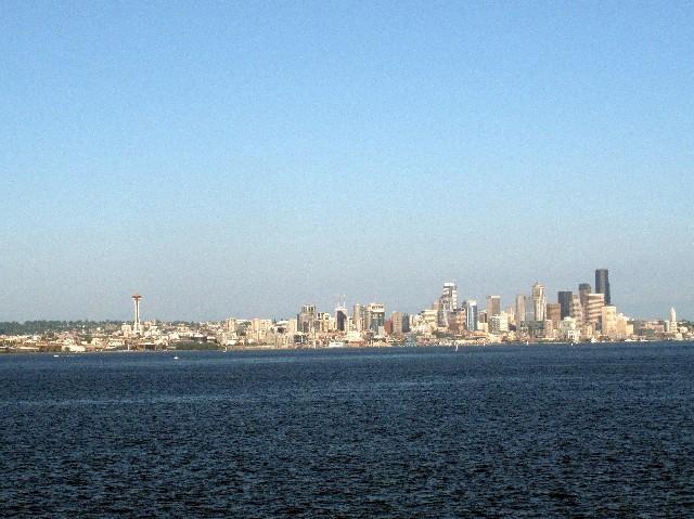 Klein aber fein - Skyline von Seattle