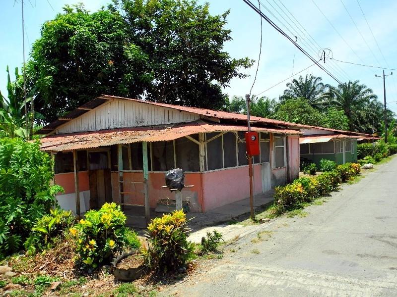 Häuser der Palmölcompany Palmita