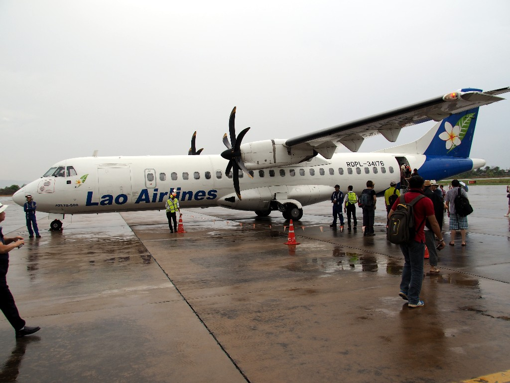 Sicher- Lao Airlines hat viele neue Flugzeuge und gilt heute als sichere Fluglinie.
