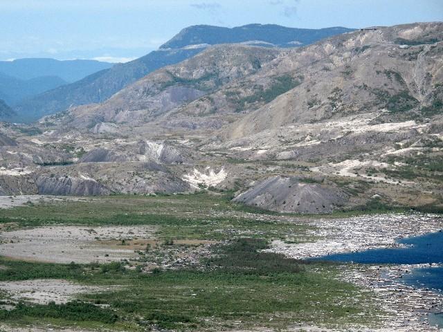Mount St Helens - Langsame Erholung der Natur nach dem Ausbruch 1980