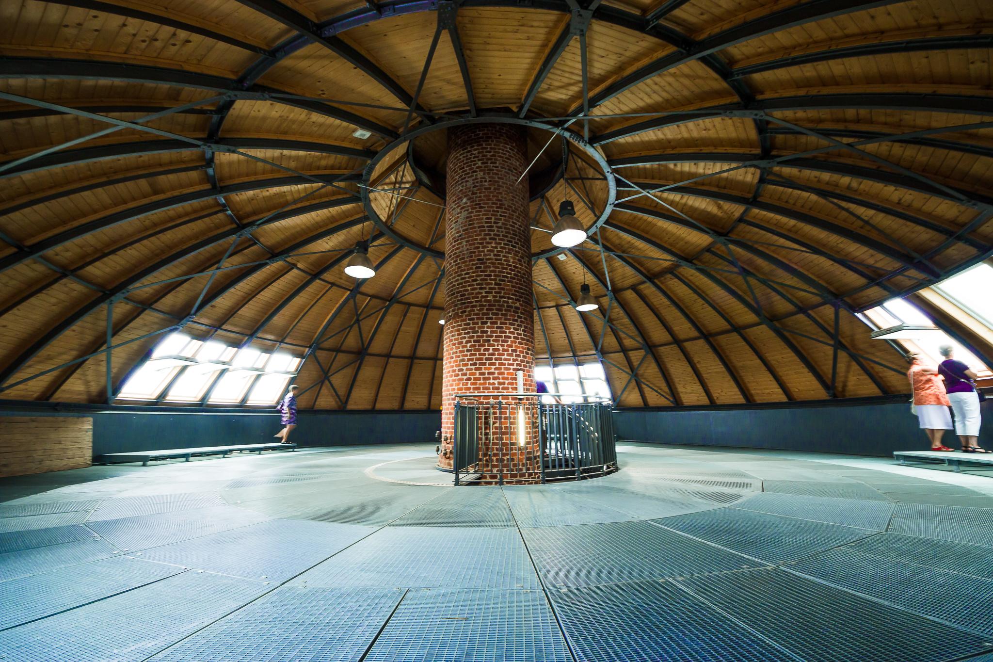 die Kuppel des H2o-Turmparks