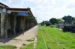 ルセナ駅。県庁に値する役所がある位主要都市なのに駅舎はひどく小さい。マニラから鉄道は1日1便くらいはあるのかもしれませんが、、もうほとんどアテにはされてない様子です。