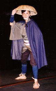 劇団自立の会『カタクチイワシ』ホタルイカのお墨(2000年)