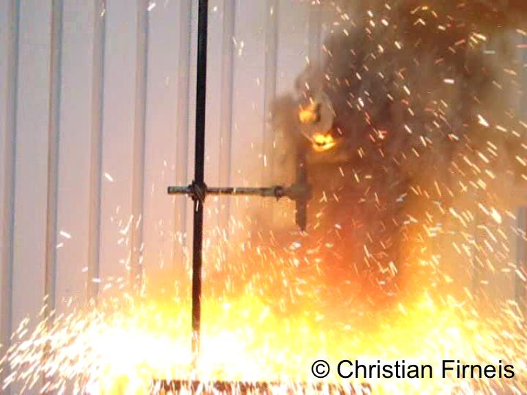 Reduktion von Kupferoxid mit Aluminium