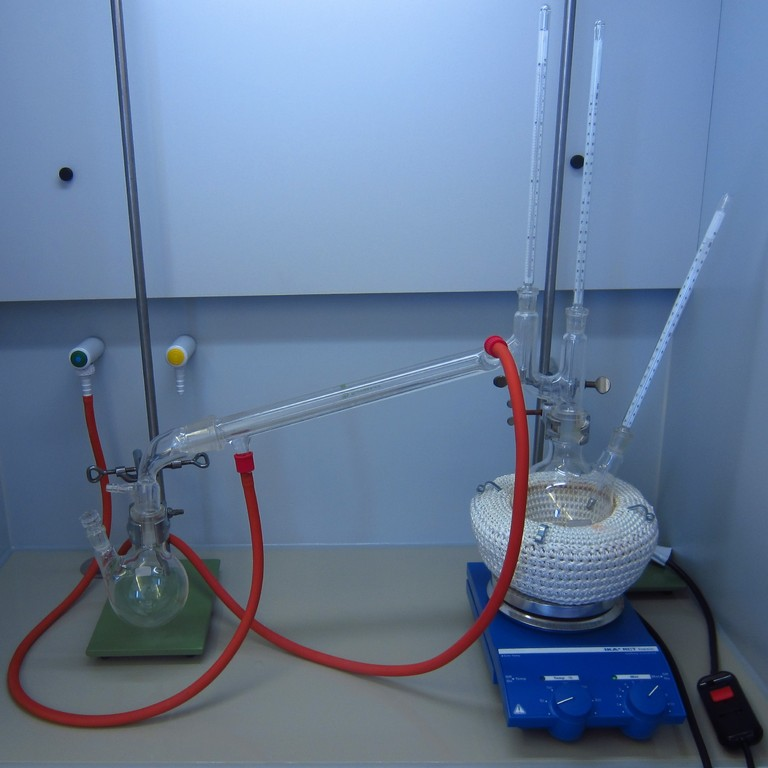 Fraktionierte Destillation
