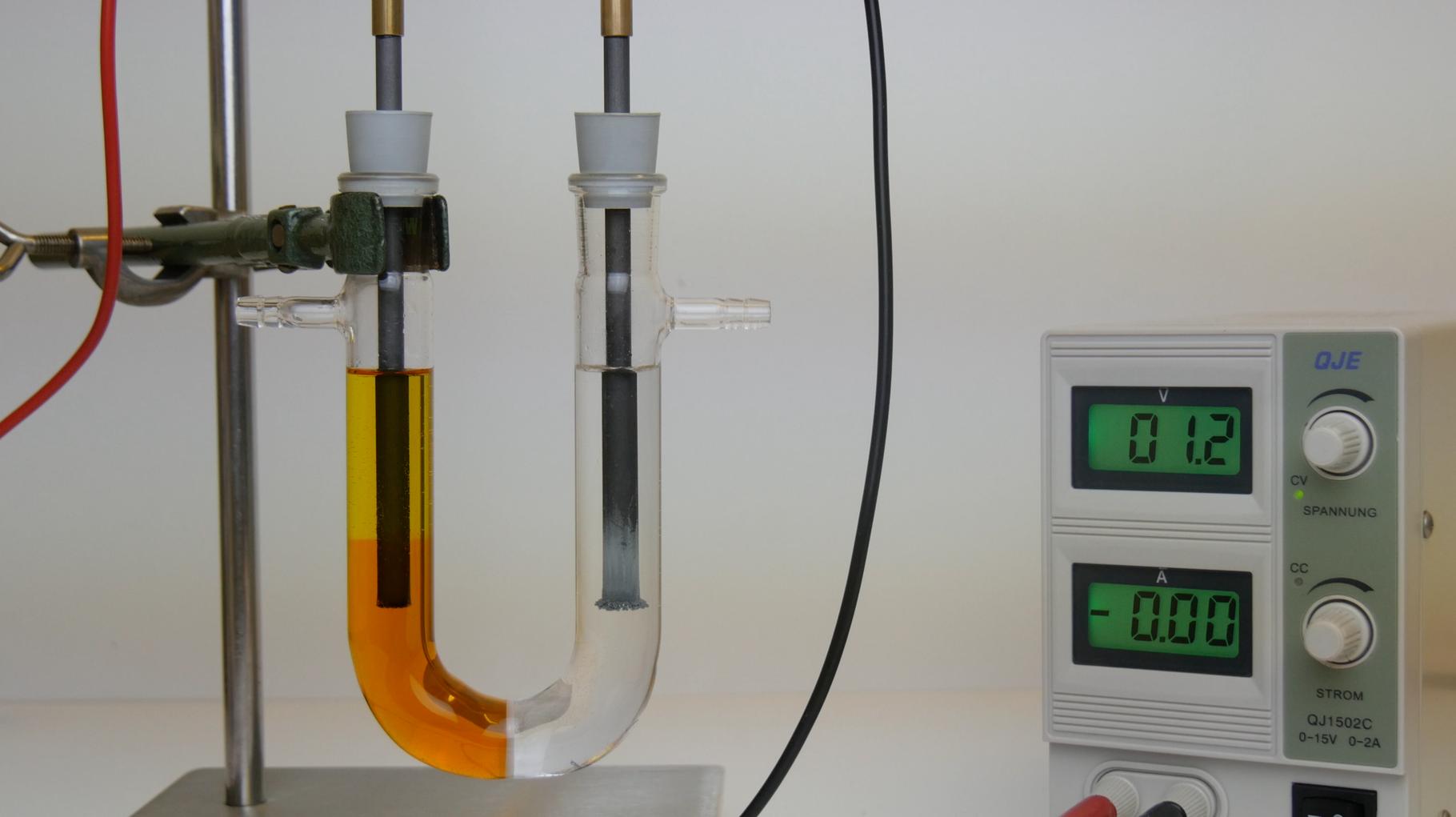 Die Elektrolyse von Zinkbromid
