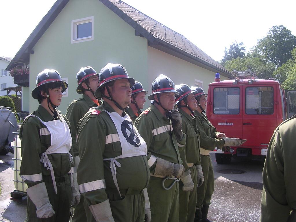 Nass-Bewerb in Weiterschwang 01.08.2009