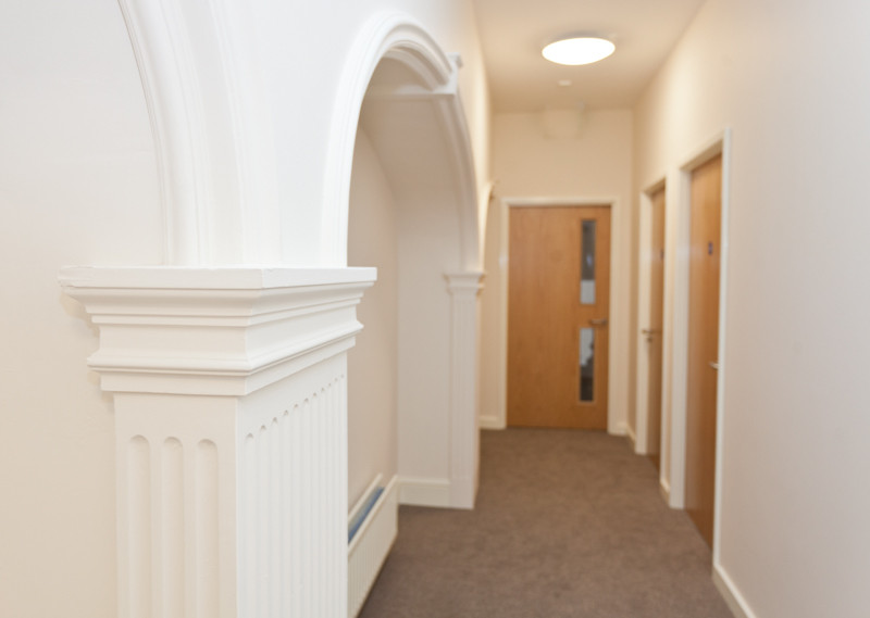 Corridor by Rest & Study rooms