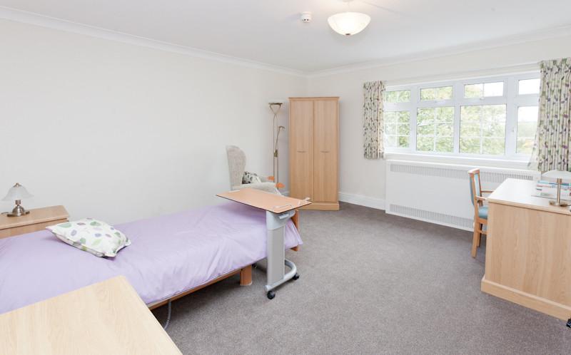 A Christian Science nursing room