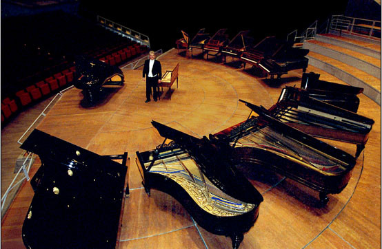 History of the Piano, Berlin Philharmonie