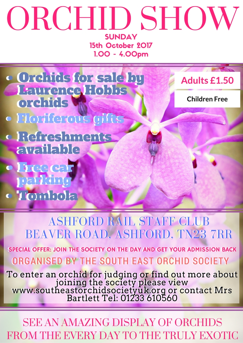 Autumn Show South East Orchid Society 2017