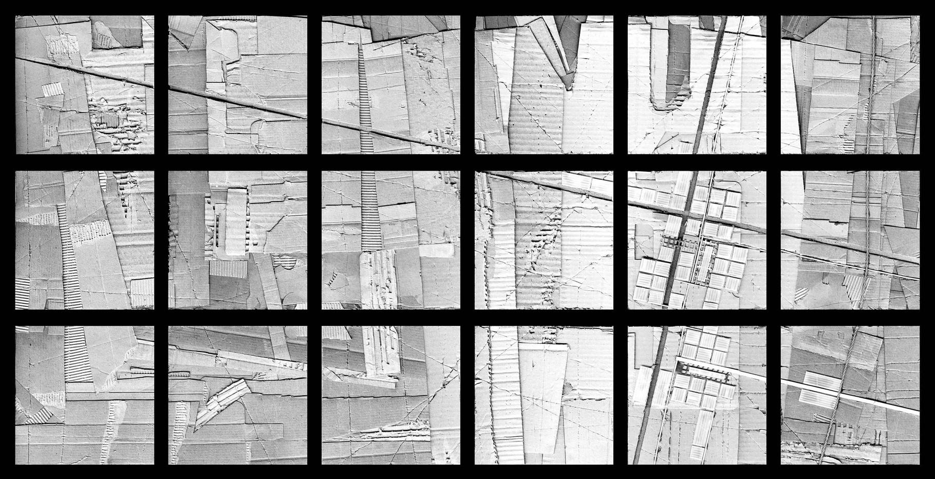 """""""urbanaurea: sito A - glaciazione"""" / AD012-02c / formati: originale [o] NON DISPONIBILE - riproduzione ridotta [r] cm 92 x 43"""