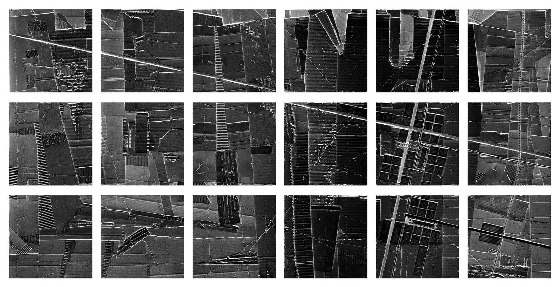 """""""urbanaurea: sito A - mondografite"""" / AD012-02b / formati: originale [o] cm 150 x 75 - riproduzione ridotta [r] cm 92 x 43"""